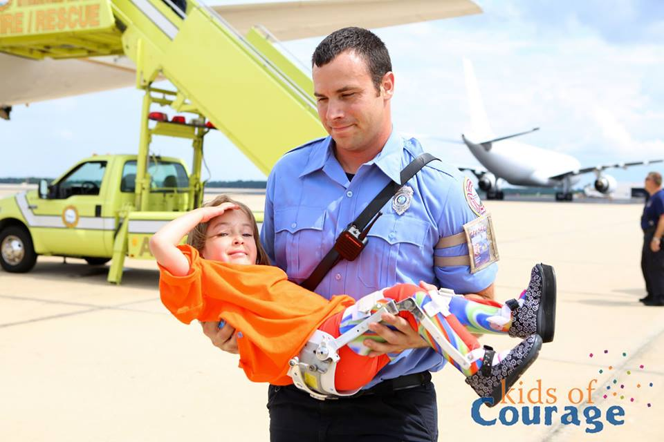 Medical Transport with Kids of Courage
